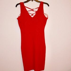 NWT red Guess Dress